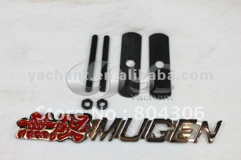 Car Hood Front Grill Badge 3D Logo Emblem INTEGRA DC5 DC2 CRV FIT