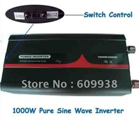 1000W 1KW Off grid solar inverter dc 12v to ac 100v with 50hz and 60hz switch