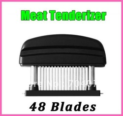 Wholesale-free shipping 1 pc 48 Stainless Steel Blades Meat Tenderizer Dishwasher safe new arrival hot sell(China (Mainland))