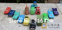 Free shipping High Quality PVC NEW 14 pcs/set Pixar Car Figures doll very popular ,good gift for kids