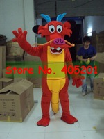 red ice dog dragon mascot costumes