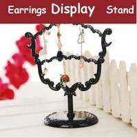 10pcs Freeshiping 28 Holes Acrylic Earrings Jewelry Display Hanging Stand Holder Show Rack Hanger  Jewelry Accessories HBW041