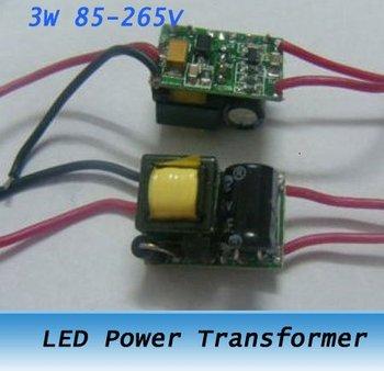 1*3W LED Power Driver Supply Transformer 110V 220V 10pcs