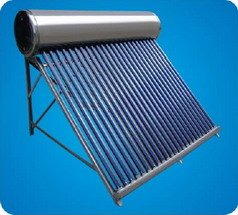 COMPACT NON-PRESSURED SOLAR WATER HEATER ( vacuum tube)