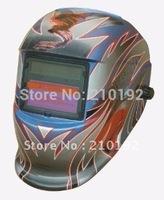 Hot  Li battery +Solar power auto darkening welding mask/helmet/filter for the TIG MMA MIG KR welding machine and  plasma cutter