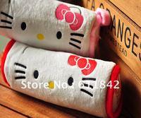 free shipping  Fashion Korea Stationery cartoon Pencil Bag Hello kitty Plush pencil case school bag