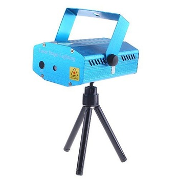 Free Shipping 150MW Mini Red & Green Moving Party Laser Stage Light Laser DJ party light Lamp Twinkle With Tripod
