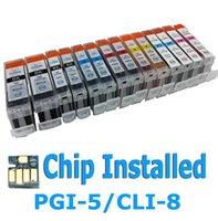 14 Multi Pack Ink CartridgeS for Canon PGI-5 CLI-8 Pixma MP950 MP960 MP970 Pro9000 PGI-5BK PGI5 PGI5BK