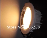 10pcs 9W dimmable high power LED Downlight light 9*1W led lighting dimming led  lighting