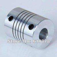 Free Shipping , Aluminium CNC Stepper Motor Flexible Shaft Coupler,Inner Diameter: 5*8mm,L*D=25*18mm