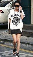 Free shipping hot fashion women sports wear  top+skirt jogging suit  ,short sleeve t-shirt SET