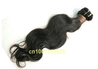 mix length human hair indian hair extension 3packs/lot 12+14+16 free shipping best quality more weave