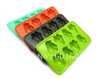 wholesale 5pcs/lot 8cups as 1 mold Penguin design Cute Animal Style Jerry / Ice maker / Ice Cream mold free shipping
