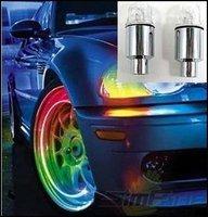 Hot Wheels Valve Lamp Flashing LED  7 Colorful Transform Light Car LED Wheel Lights,Bicycle Flashlight,Bicycle Valve Core lamp