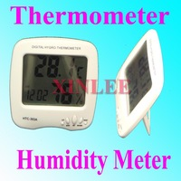 Whole set LCD Digital Temperature Humidity Meter Thermometer HTC-303A FREEshipping wholesale