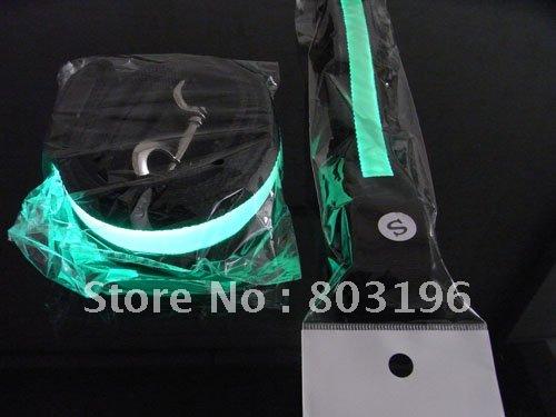 10 Sets/Lot Free Shipping (1 set=1 collar+1 leash) LED Flashing Dog leashes fashion LED Dog Leads 6 colors(China (Mainland))
