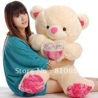 Tactic bears rose hold heart bear plush toy bear