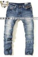 Wholesale/retai 2012  New style Classic Design Trousers Men's Straight Jeans Men's Jeans  size 28-38