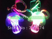 free shipping led flashing whistle  led toys