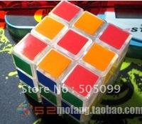 Free shipping of crystal magic cube 3x3
