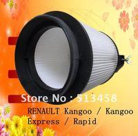 CU1546 wholesale white fiber performance car cabin air filter for Renault 7701042499 auto part 17*17*19.5cm LA48