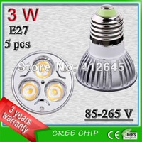 free shipping LED-Lampe profocus_3w E27 non-dimmable die casting bulbs