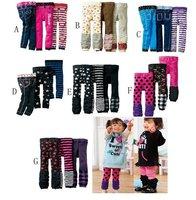 Free shipping!! 12pcs baby girls/boys , cotton slim pants,baby leggings,mixed designs