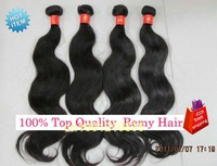 """16""""+16""""+18"""" mix length hair weaving 3pcs/lot Indian hair extension free shipping best quality grade 5A"""