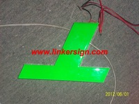 epoxy resin channel letter for outdoor used