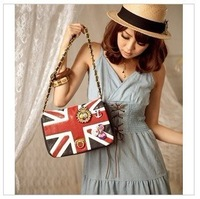 Free shipping.Horizontal style flag pattern is small and exquisite brand fashion bags.