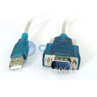 New USB to RS232 COM Port Serial PDA 9Pin DB9 Cable Adapter