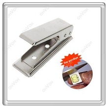 Metal Micro Sim Card Cutter + 2pcs Free Sim Adapter for iPhone 4 4S iPad 3GS