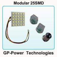 2012 Newest Free shipping+10pcs/lot+LED Panel  3 Bases/1157/3157/7443  25SMD Auto LED Light