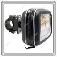 S5H Motorcycle Bike Waterproof Case Bag + Mount Holder For Garmin GPS Navigator