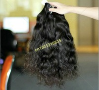 "bigest discount grade 5a 5pcs/lot 12""~28""  wholesale Indian good sale french curl human remy hair extension"