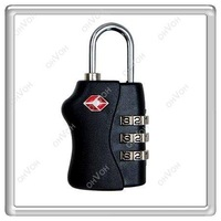 S5H 3 Dial TSA Combination Padlock Luggage Suitcase Bag Travel Security Lock New