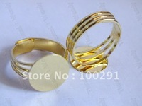 14mm pad Gold plated Ring base