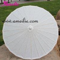 10pcs/lot+DHL Free shipping paper umbrella/parasol/white paper parasol wedding
