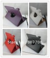 360 rotate leather case cover for ipad 2 ipad 3, 5pcs/lot