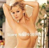 FreeShipping common size Reusable adhesive nipple cover,fabric nipple cap,Nipple Petal magic cover TV product,sexy bra accessory