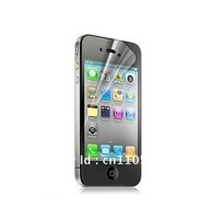 clear glossy Front Screen Protector Guard film skin for iphone 4 4S