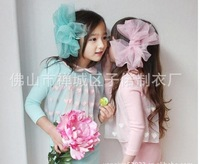 Платье для девочек Girl Korean style princess dress children ' s green dresses A14 high quality 33273