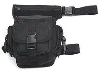 SWAT SWAT Drop Leg Utility Waist Pouch Carrier Bag BK free ship