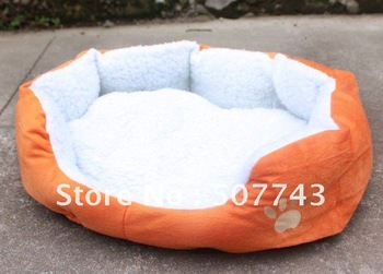New Arrival!pet product colorful dog bed,gift for/dog/cat/rabbit,Soft material,brown/pink/orange/blue/yellow,wholesale&retail