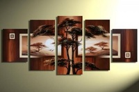 MODERN ABSTRACT HUGE CANVAS Art Decor OIL PAINTING