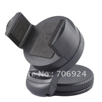 Universal Car Windshield Mount Holder Stand 360 Degrees Cradle Dashboard For Cellphones 4S S3 GPS MP4 50pcs