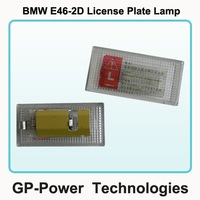 2012 Newest Car LED License Plate light For BMW E46 2D