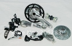 Small sets XT M780 change speed Bicycle groups for mountain bike 1set/lot + Free shipping(China (Mainland))
