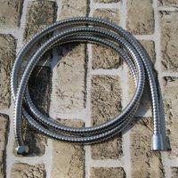 "Stainless-Steel Twist Free 47.3"" (120cm) Shower Hose Plumbing Hose Shattaf tube G1/2 +G1/2 TH08S"