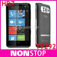 Holiday Sale T9292 Original HTC HD7 3G Windows Phone 7 T-Mobile GPS WIFI 5MP 4.3''TouchScreen Unlocked Cell Phone Free Shipping